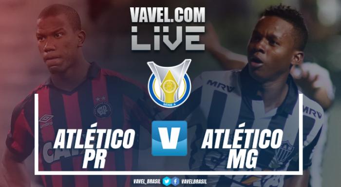 Resultado Atlético-PR x Atlético-MG hoje pelo Campeonato Brasileiro 2017 (0-2)