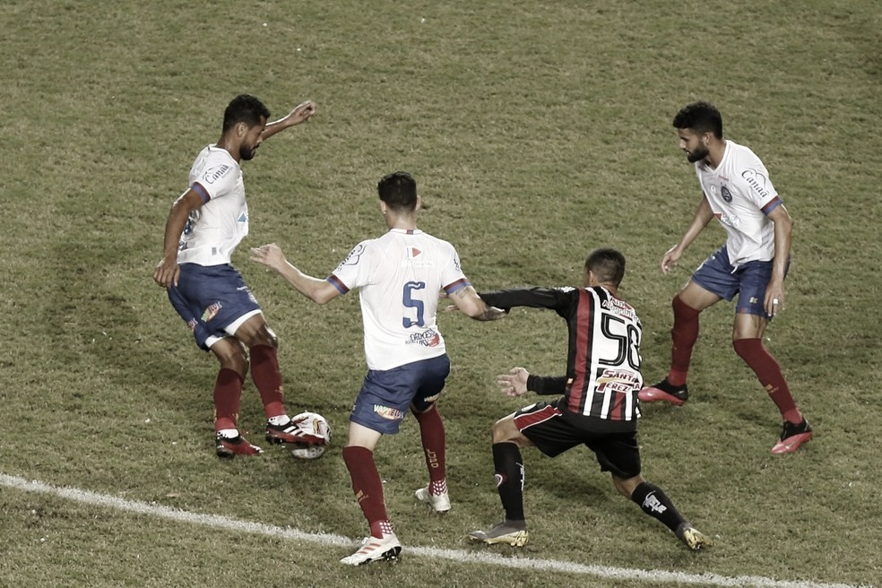 Em jogo fraco, Bahia e Atlético-BA empatam em primeira final do Baiano