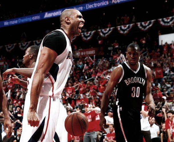 Atlanta Hawks reage e vence Brooklyn Nets no jogo cinco dos playoffs