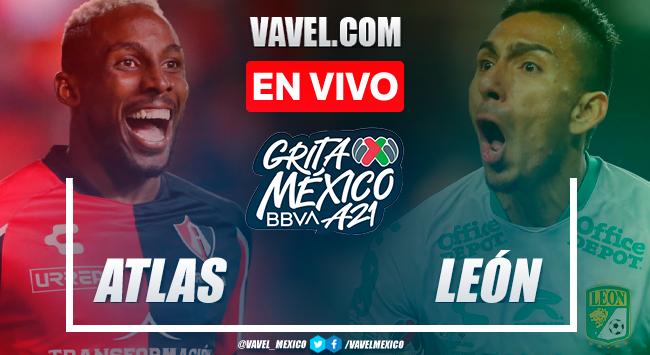 Resumen y goles: Atlas 2-0 León en Liga MX 2021