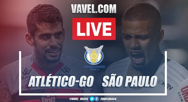Gols e melhores momentos para Atlético-GO 2x1 São Paulo pelo Campeonato Brasileiro