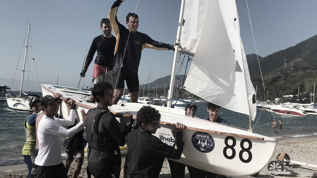 Mundial Júnior de Snipe 2019 é decidido na última regata com vitória brasileira