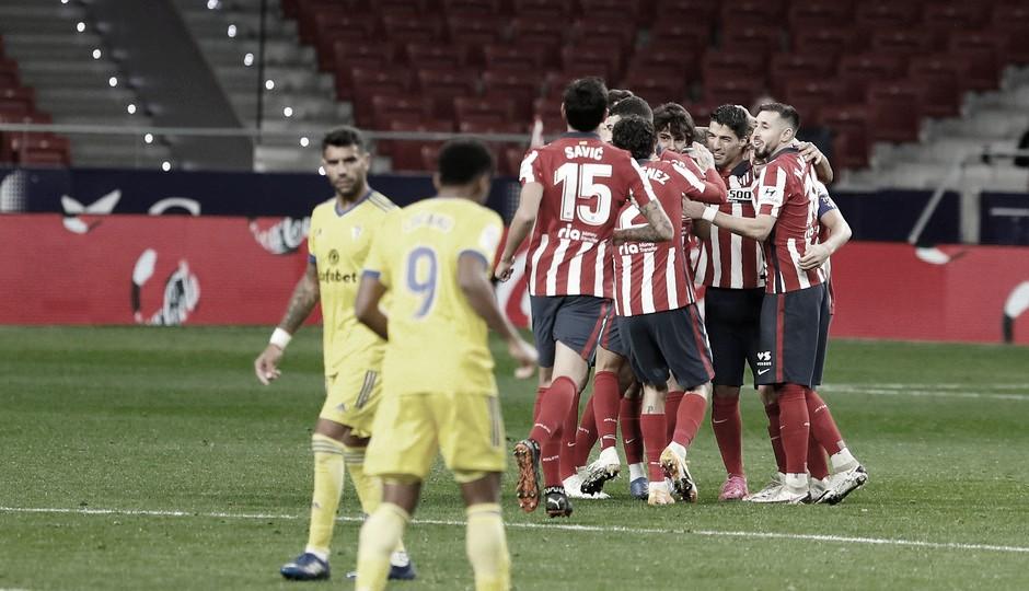 Atlético de Madrid goleia Cádiz e assume liderança do Campeonato Espanhol