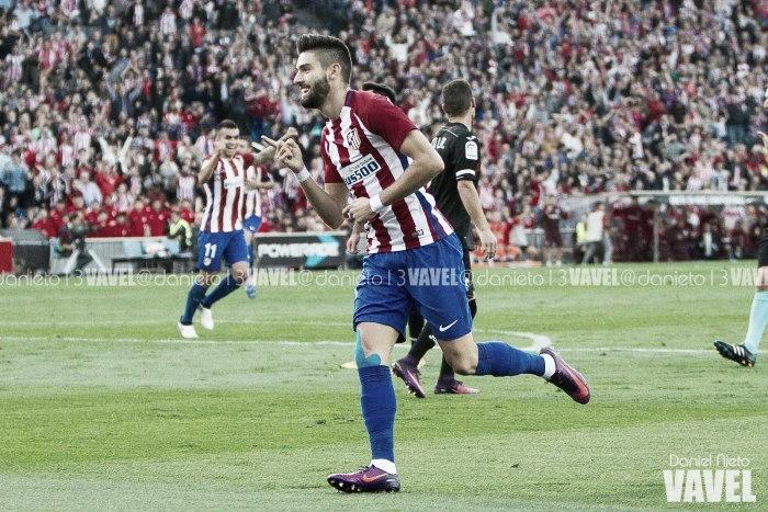 Carrasco brilha e Atlético de Madrid faz 7 a 1 no Granada
