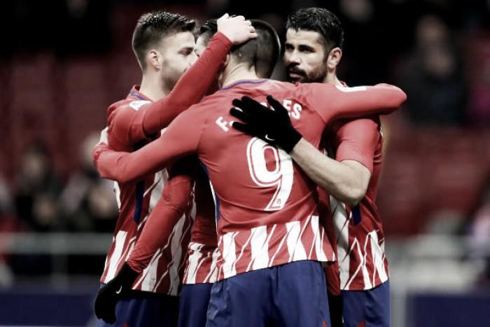 Atlético de Madrid vence Leida com facilidade outra vez e avança na Copa do Rei