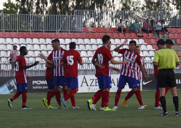 El Atlético de Madrid B remonta en el Canódromo y comienza con buen pie el camino a Segunda B