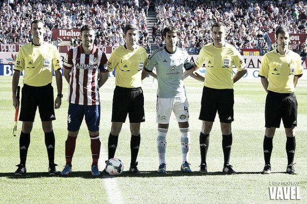 ¿Cuánto mide el árbitro Undiano Mallenco? - Altura Atleti-celta-liga-capitanes-gabi-arbitros-undiano-mallenco-436522713