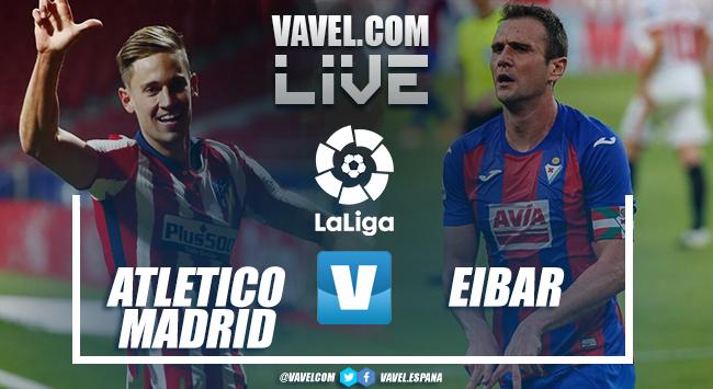 Resumen del Atlético de Madrid vs SD Eibar en LaLiga Santander 2021 (5-0)