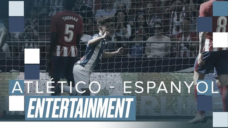 Partido histórico: Atlético 0-2 Espanyol (J.36, temp. 17/18)