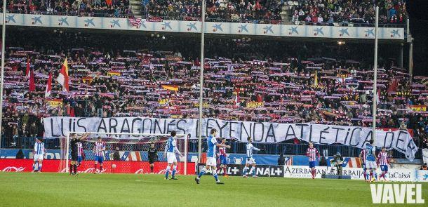 Fotos e imágenes del Atlético de Madrid - Real Sociedad de la vigésimo segunda jornada de Liga BBVA