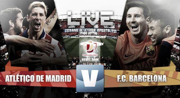 Atlético de Madrid vs Barcelona en vivo online (2-3)