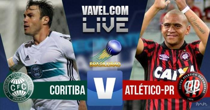 Resultado Coritiba x Atlético-PR pelo Campeonato Brasileiro 2016 (1-0)