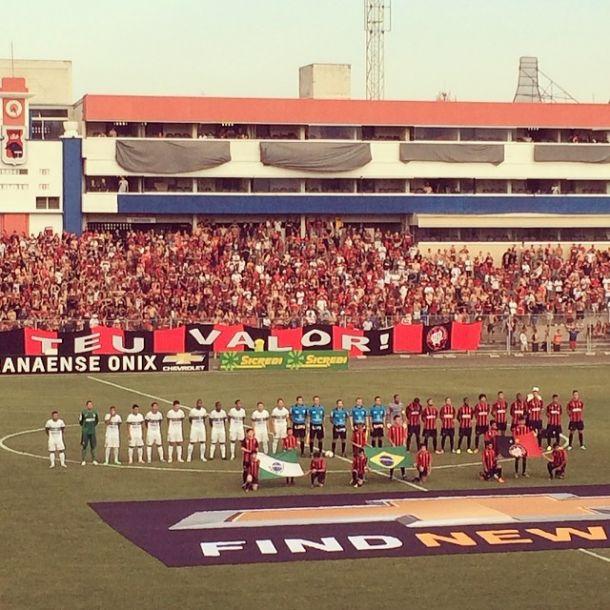 Sub-23 do Atlético-PR goleia os garotos do Coritiba