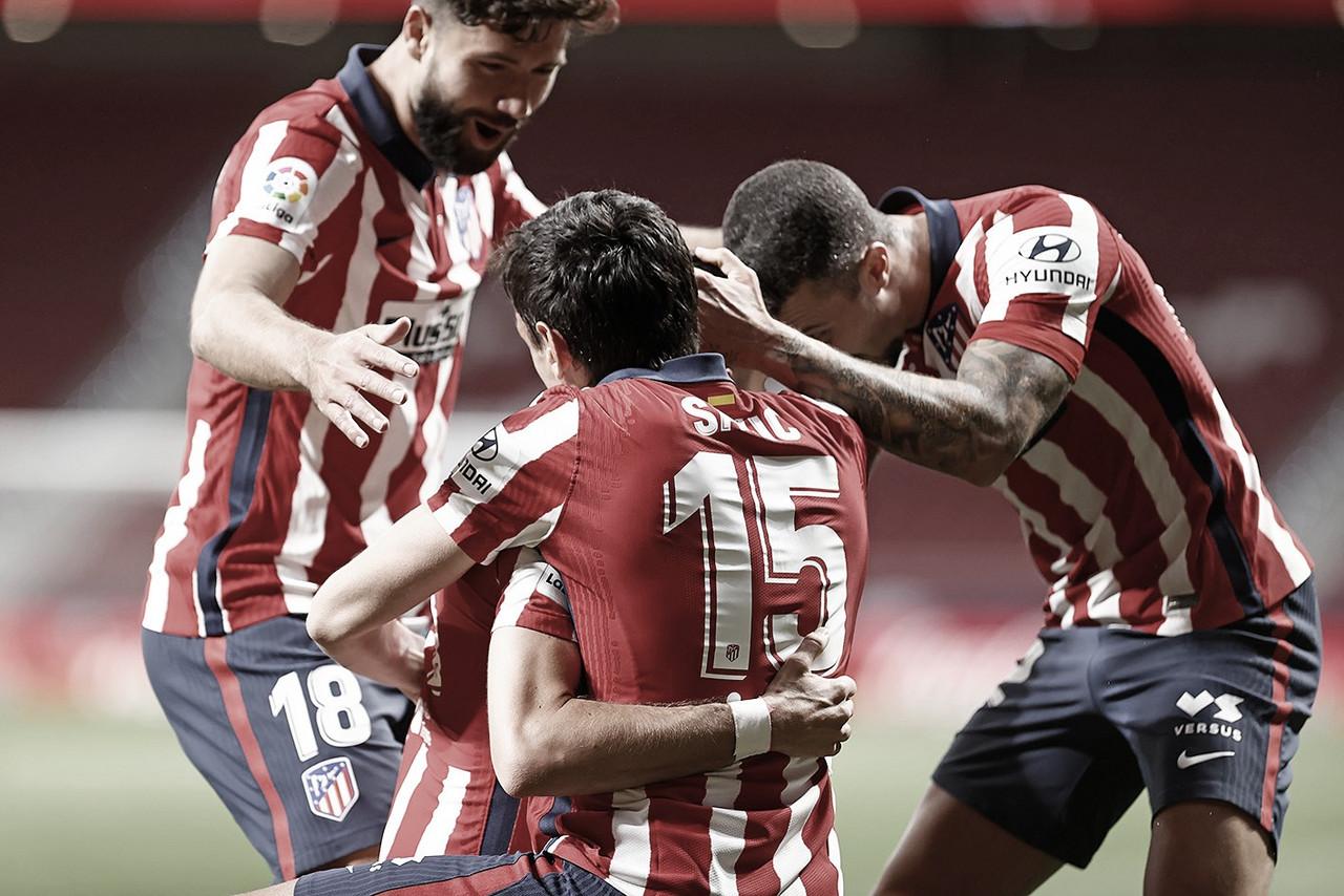 Simeone apretó, pero el Atlético lo ganó