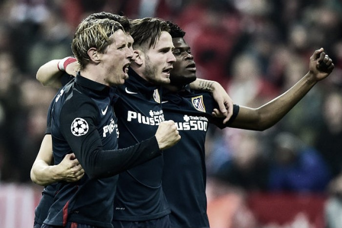 Bayern Munich (2) 2-1 (2) Atletico Madrid: Simeone's men advance on away goals in thrilling affair