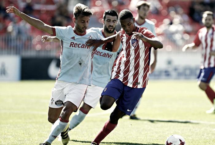 Kevin Álvarez reaparece con el Celta B