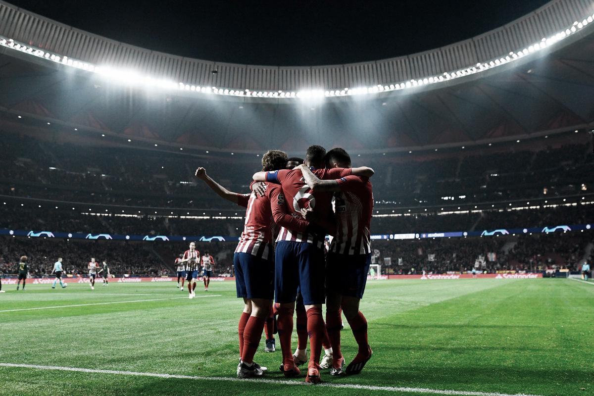 Con tranquilidad, Atlético doblega en casa al Mónaco