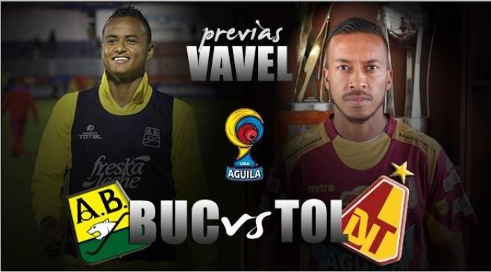 Atlético Bucaramanga vs Deportes Tolima: el primer duelo por un cupo en la final