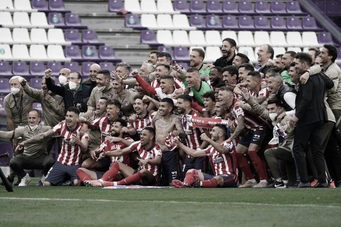 El Atlético de Madrid lo grita fuerte: Campeones