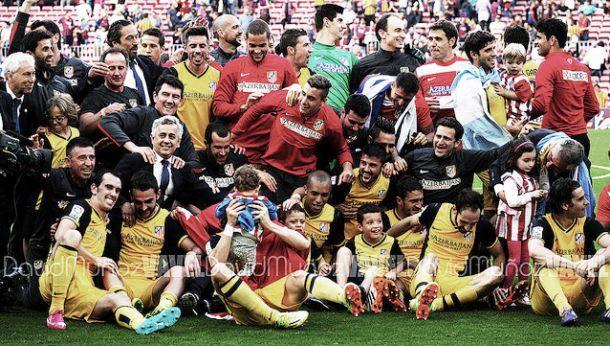 Atlético de Madrid sagra-se campeão 18 anos depois