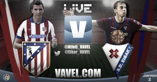 Atlético de Madrid vs Eibar en vivo y en directo online