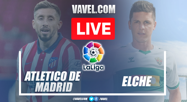 Goal and Highlights: Atletico Madrid 1-0 Elche  in LaLiga 2021