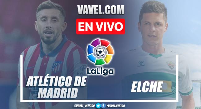 Gol y resumen del Atlético Madrid 1-0 Elche en LaLiga 2021