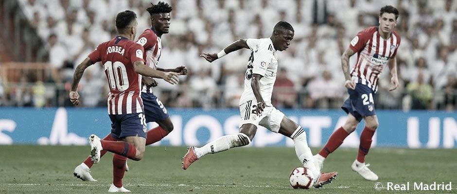Resumen del Atlético de Madrid vs Real Madrid (1-1). El Madrid rescata un empate del Metropolitano