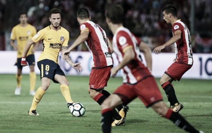 Atlético de Madrid supera expulsão de Griezmann e arranca empate com Girona