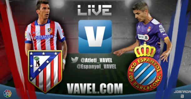 Partido Atlético de Madrid vs Espanyol en vivo y en directo online