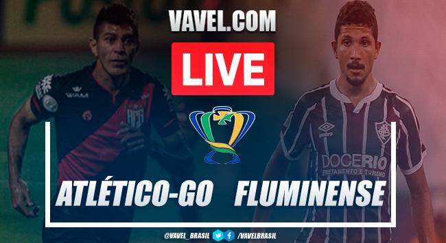 Gols e melhores momentos Atlético-GO x Fluminense pela Copa do Brasil (3-1)