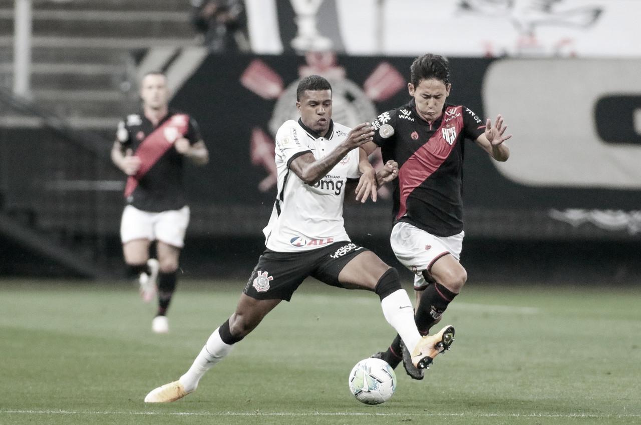Gols e melhores momentos de Atlético-GO 1 x 1 Corinthians pelo Campeonato Brasileiro 2020