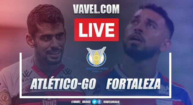 Gols e melhores momentos de Atlético-GO x Fortaleza (2-0)