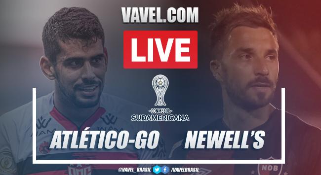 Melhores momentos de Atlético-GO x Newell's Old Boys pela Copa Sul-Americana 2021