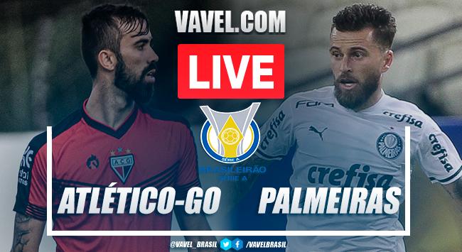 Gols e melhores momentos de Atlético-GO 0 x 3 Palmeiras pelo Campeonato Brasileiro