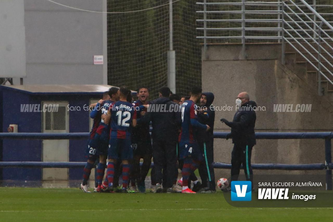 Triunfo del Atlético Levante en el derbi de filiales ante el Valencia Mestalla (1-0)