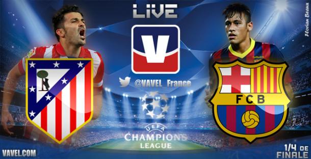 Live Champions League : le match Atlético Madrid vs FC Barcelone en direct
