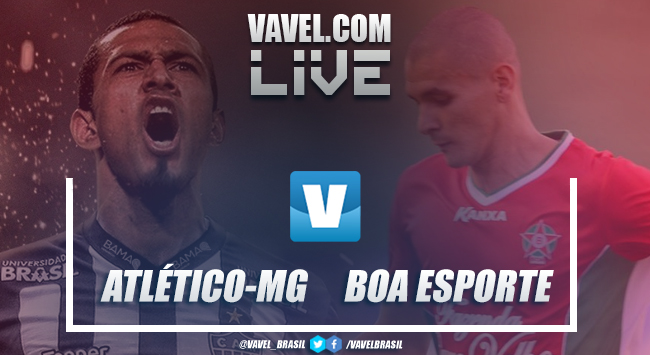 Resultado Atlético-MG 5x0 Boa Esporte no Campeonato Mineiro 2019