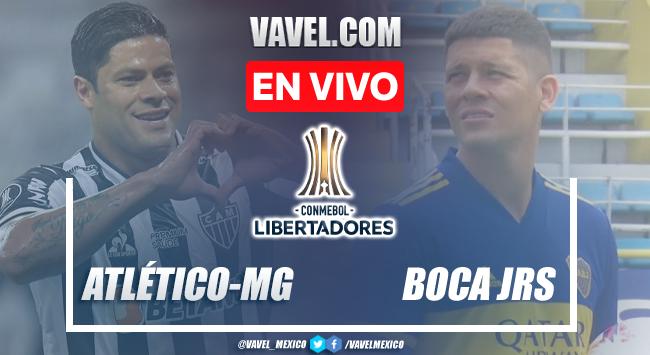 Penales y resumen del Atlético Mineiro 0(3)-(1)0 Boca Juniors en Copa Libertadores 2021