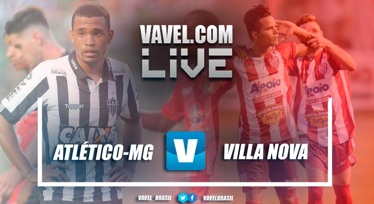 Resultado Atlético-MG 3 x 1 Villa Nova pelo Campeonato Mineiro