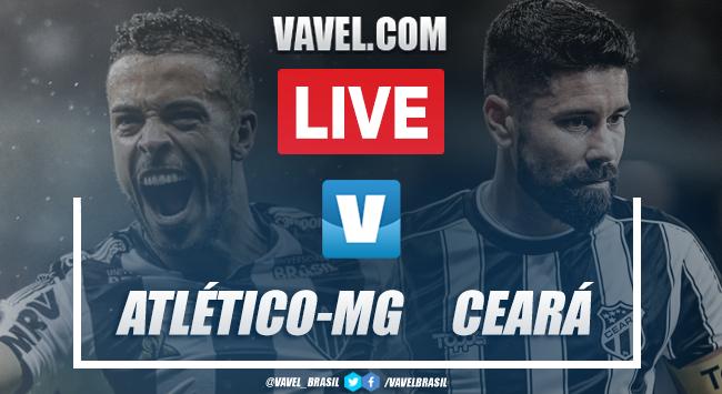 Gol e melhores momentos Atlético-MG 2x1 Ceará pelo Campeonato Brasileiro 2019