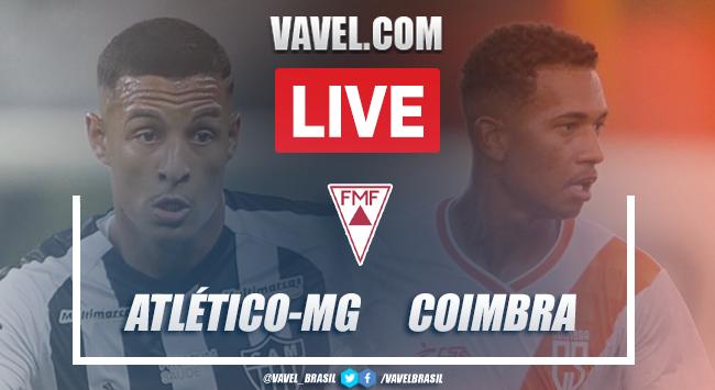 Gols e melhores momentos Atlético-MG 3x0 Coimbra pelo Campeonato Mineiro