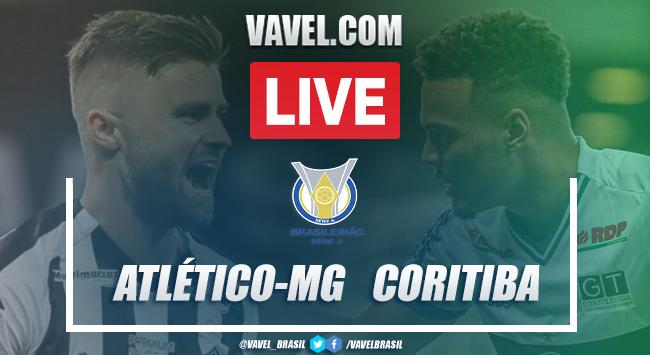 Gols e melhores momentos de Atlético-MG x Coritiba (2-0)