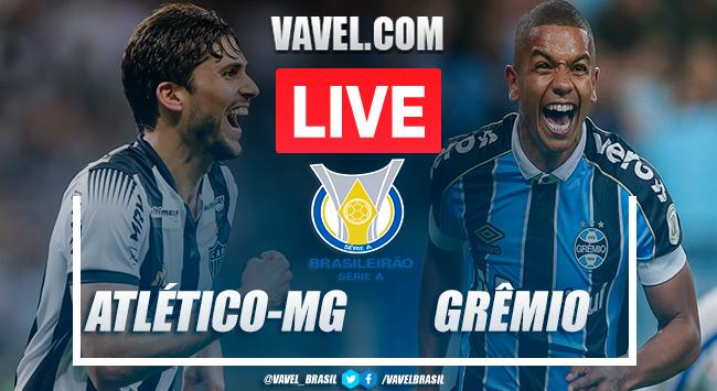 Atlético-MG x Grêmio AO VIVO: jogo em tempo real pelo Campeonato Brasileiro