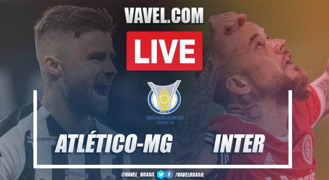 Gols e melhores momentos de Atlético-MG 2 x 2 Inter pelo Campeonato Brasileiro