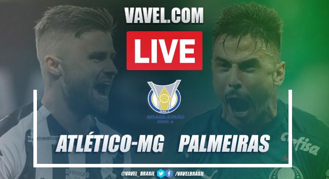 Gols e melhores momentos para Atlético-MG 2x0 Palmeiras pelo Campeonato Brasileiro