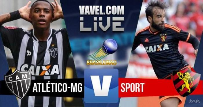 Resultado Atlético-MG x Sport no Campeonato Brasileiro 2016 (1-0)