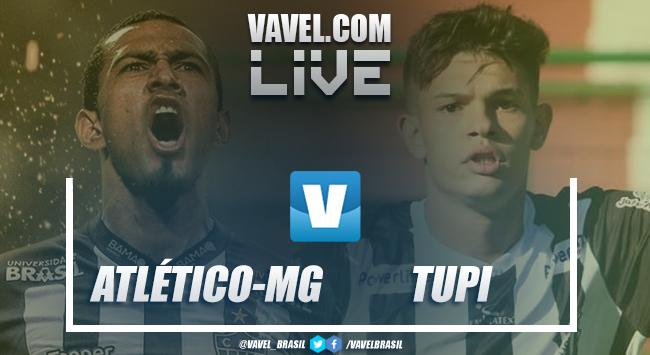 Resultado Atlético-MG 2 x 0 Tupi pelo Campeonato Mineiro