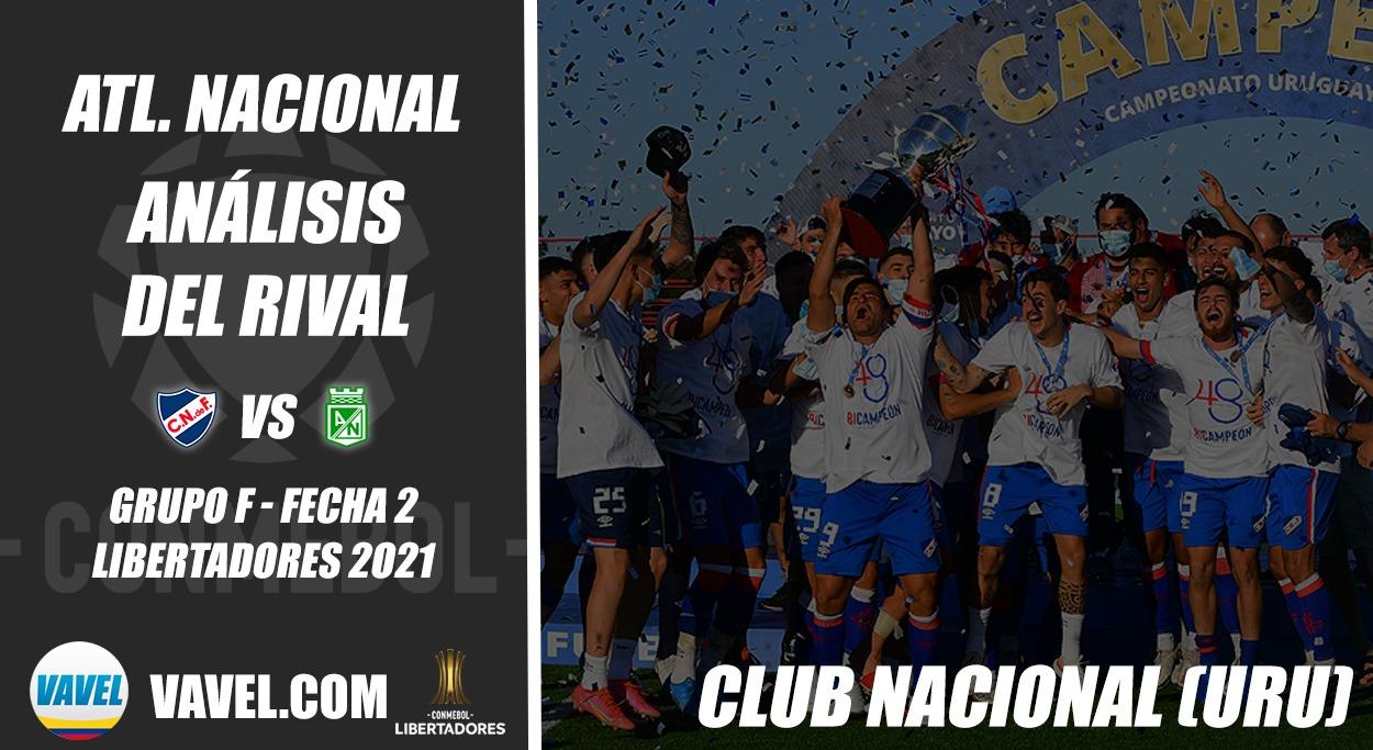 Atlético Nacional, análisis del rival: Club Nacional (Fecha 2 - Grupo F, Libertadores 2021)