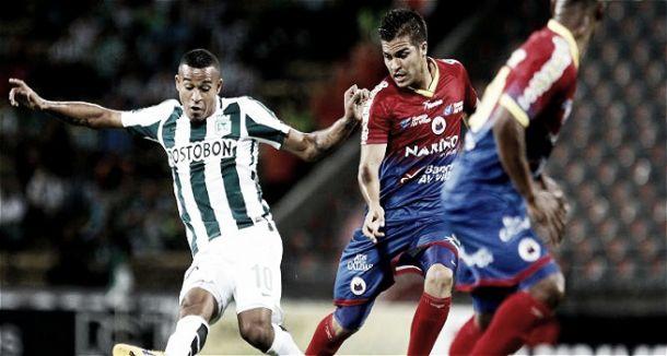 Atlético Nacional goleó 4 - 0 a Deportivo Pasto y es líder parcial